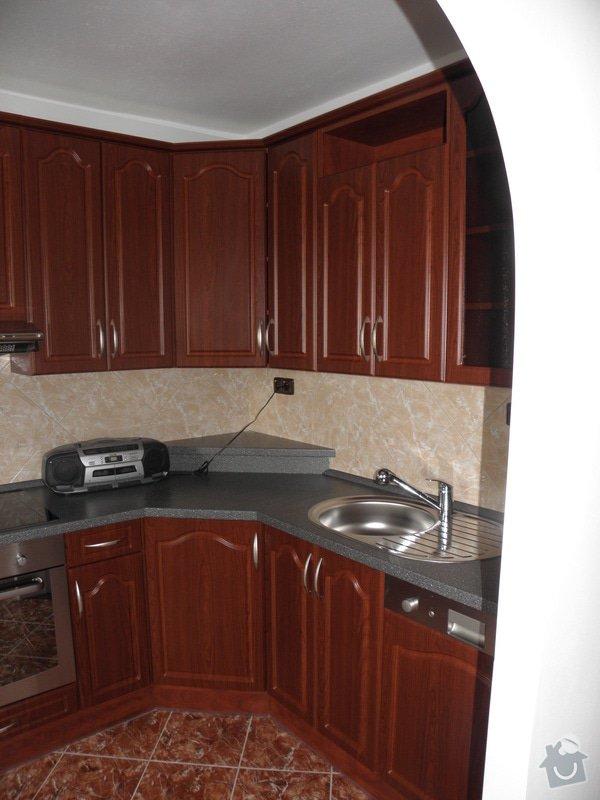 Rekonstrukce celého bytu,koupelny a výroba kuchyně: P6147145