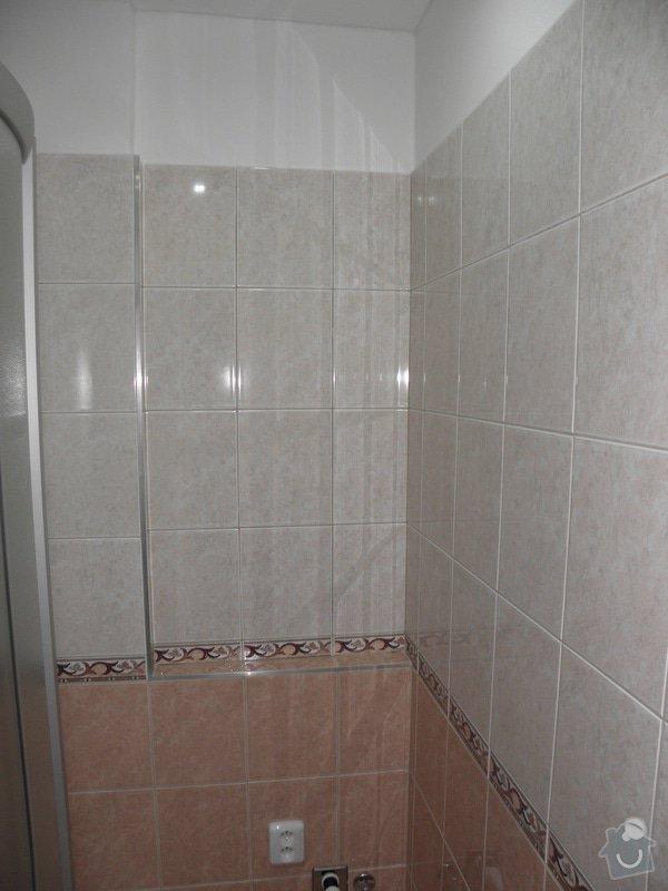 Rekonstrukce celého bytu,koupelny a výroba kuchyně: P6147185