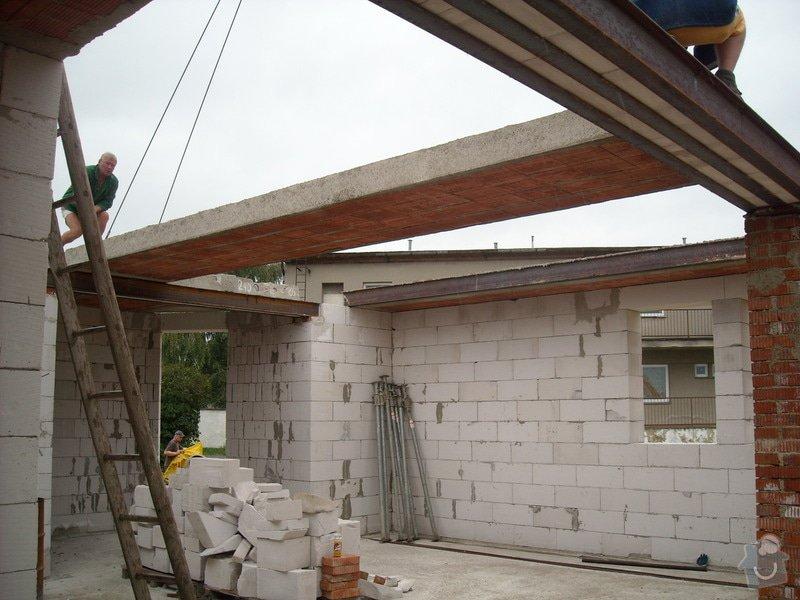 Výroba stropních panelů + montáž: sn_mek_122