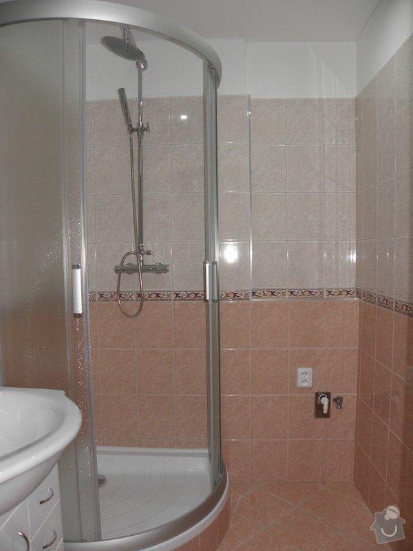 Rekonstrukce celého bytu,koupelny a výroba kuchyně: P6147193