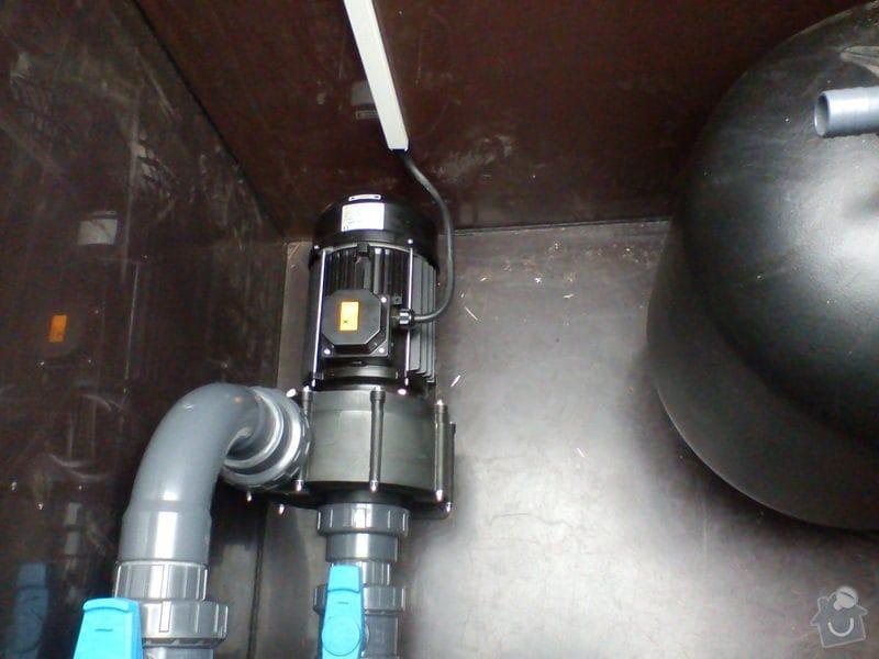 Zapojení elektriky bazénu: DSC00375