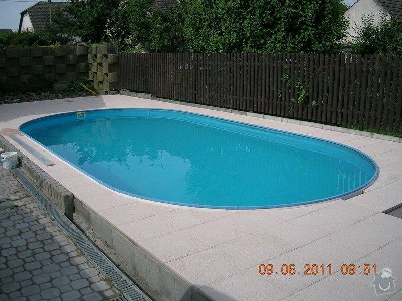 Montáž terasové dlažby: DSCN3978