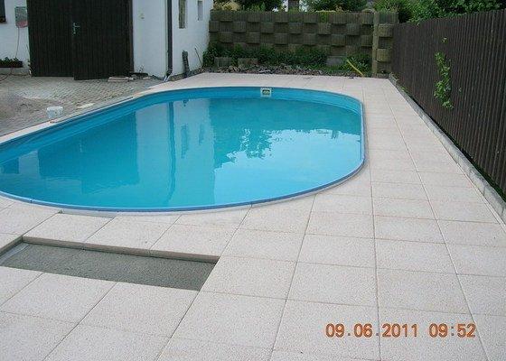 Montáž terasové dlažby