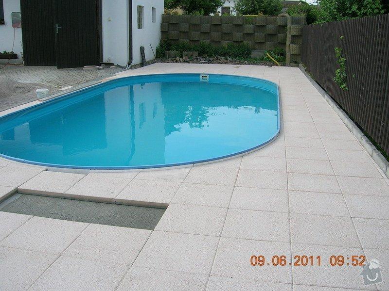 Montáž terasové dlažby: DSCN3979