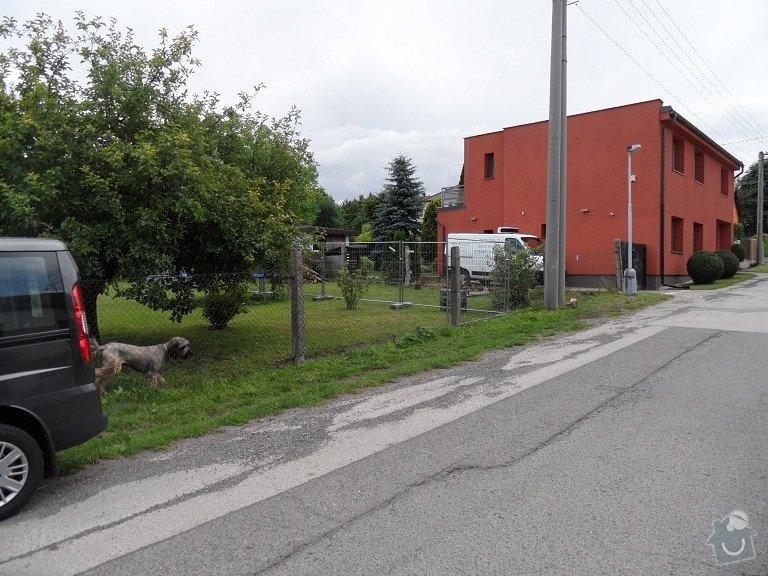 Postavení plotu: Stavajici_plot