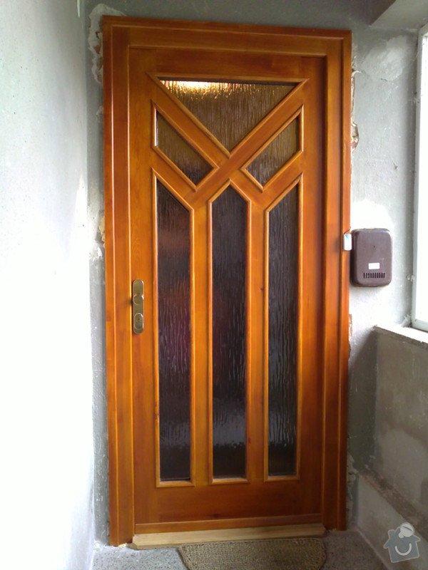 Výroba a montáž dveří a oken, plovoucí podl.: 12062010008