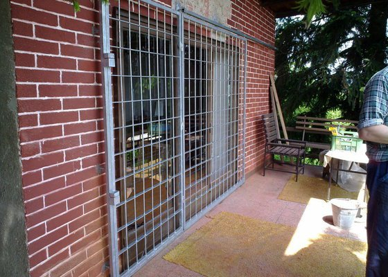 Zabezpečení rekreační chaty - mříže
