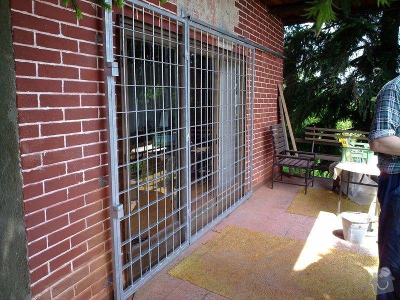 Zabezpečení rekreační chaty - mříže: 28052010142