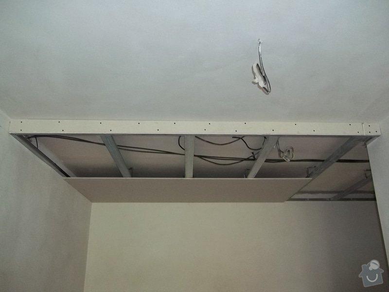 Snížení stropu pro bodová světla: 104_0285