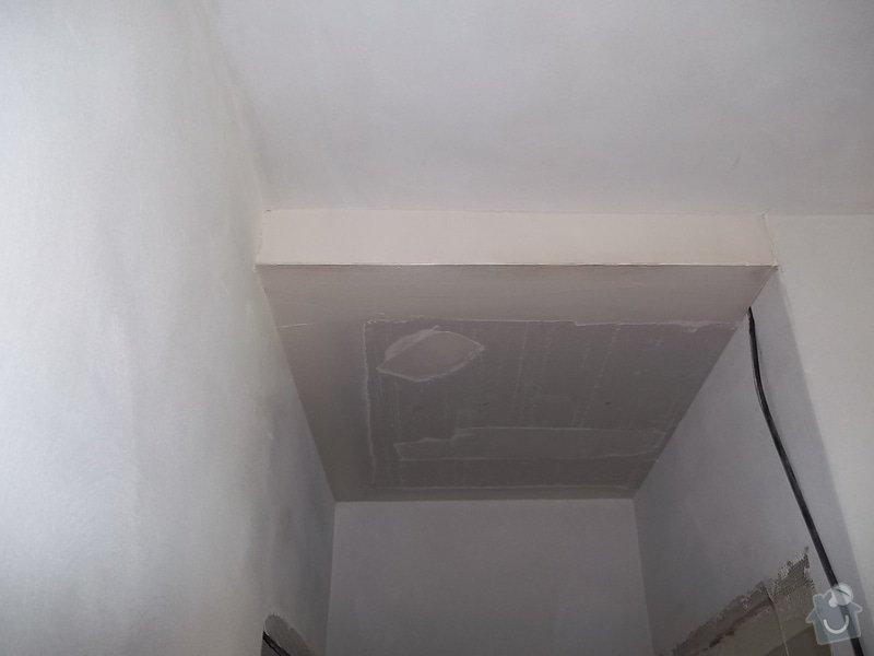 Snížení stropu pro bodová světla: 104_0292