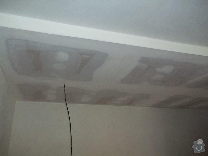 Snížení stropu pro bodová světla: 104_0297