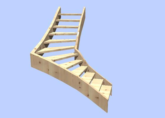 Provedení dřevěného schodiště v rodiném domě