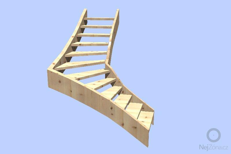 Provedení dřevěného schodiště v rodiném domě: 2