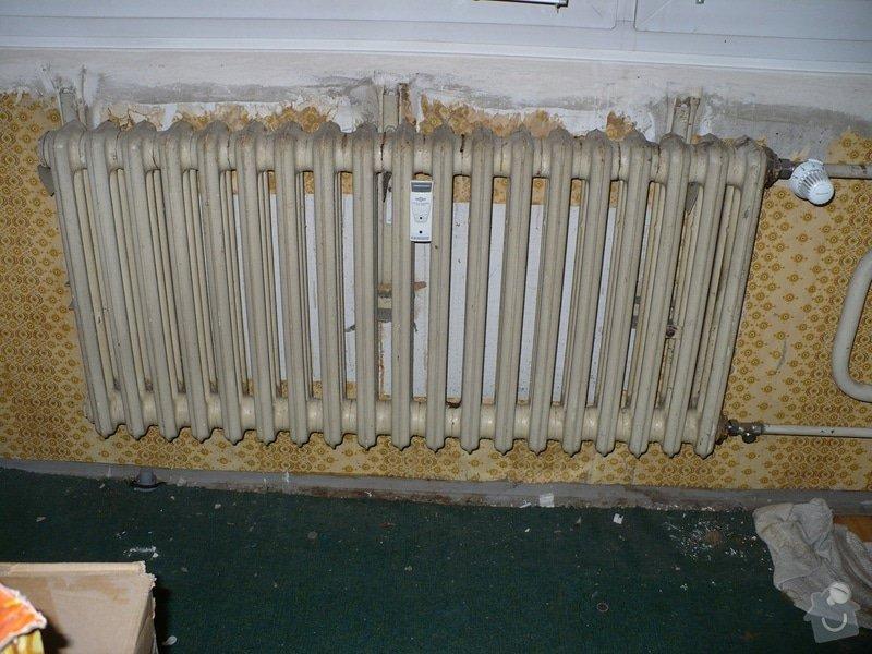 Výměna topení v panelovém bytě: P1020401