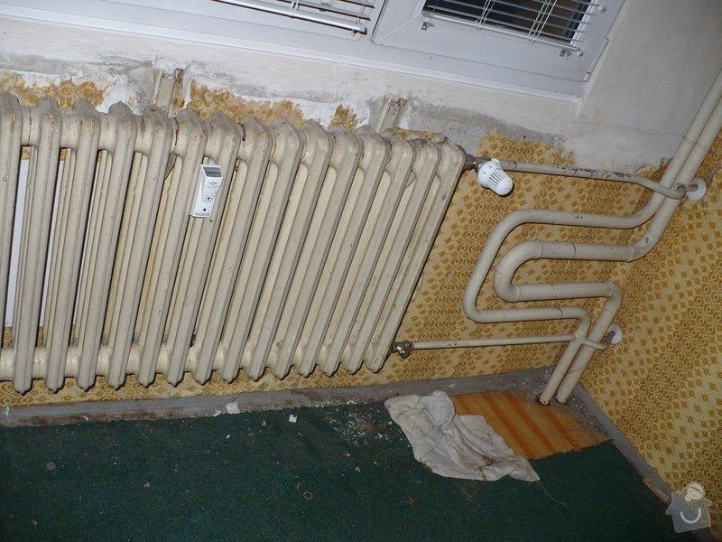Výměna topení v panelovém bytě: P1020402