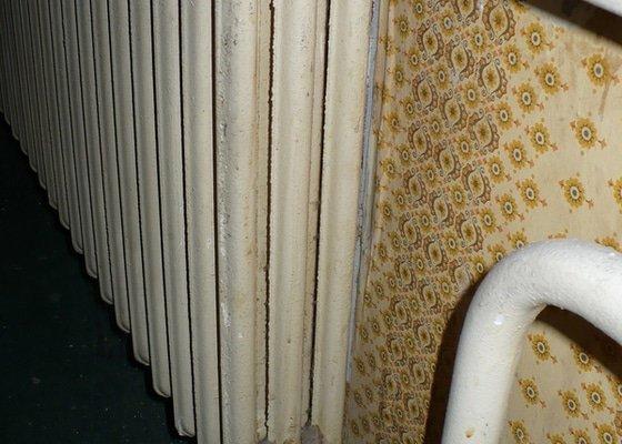 Výměna topení v panelovém bytě