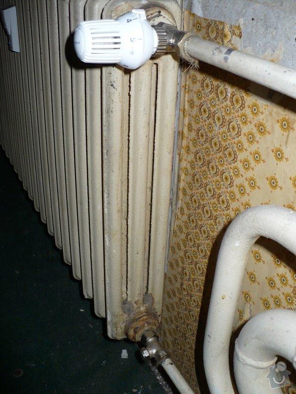 Výměna topení v panelovém bytě: P1020409