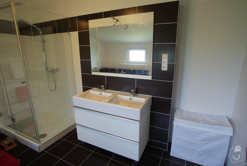 Vybavení rodinného domu -dřevostavby: koupelna_1