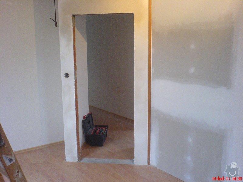 Montáže sádrokartonu,zednické práce-vybourání stavebního otvoru : 01