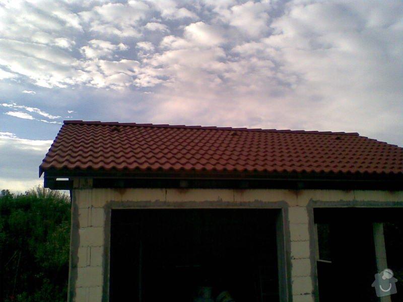 Pokrytí střechy garáže: gar2