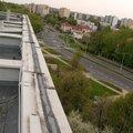 Oprava drobnych zatekani ploche strechy panelovy dum sv400013