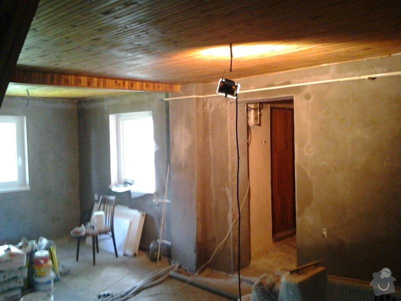 Rekonstrukce chaty: Fotografie0069
