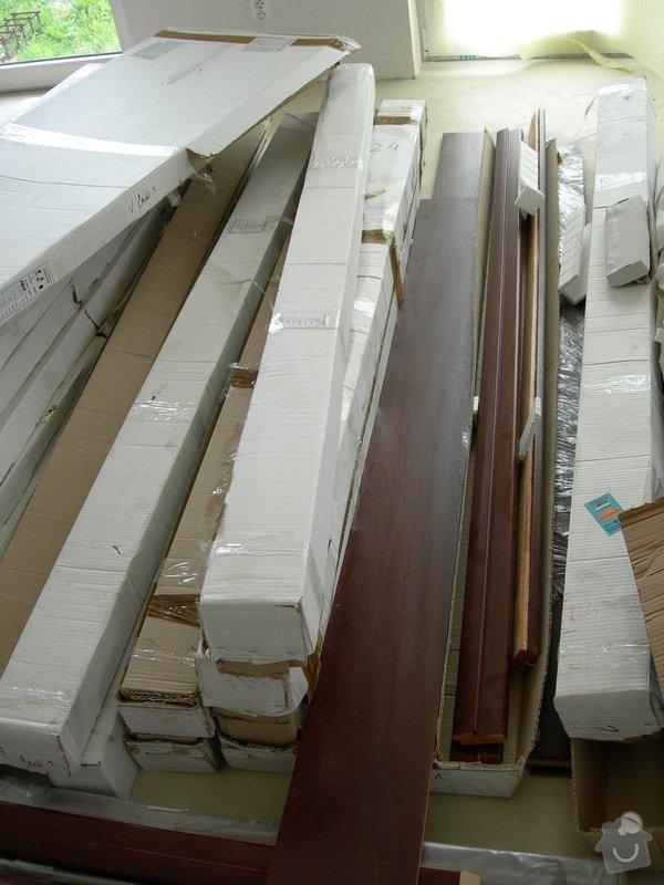 Montáž 15 ks dřevěných dveří: DSCN2220