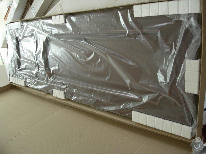Montáž 15 ks dřevěných dveří: DSCN2223