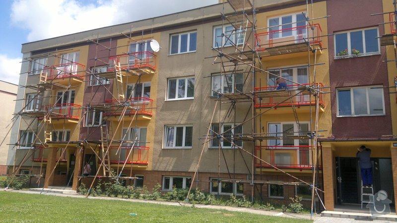 Zasklení balkonů drátěným sklem: 25062011222