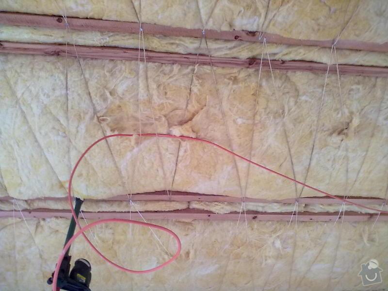 Zateplené sádrokartony v rodiném domě: 09122010085