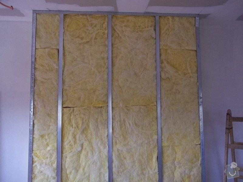 Zateplené sádrokartony v rodiném domě: 104_0093