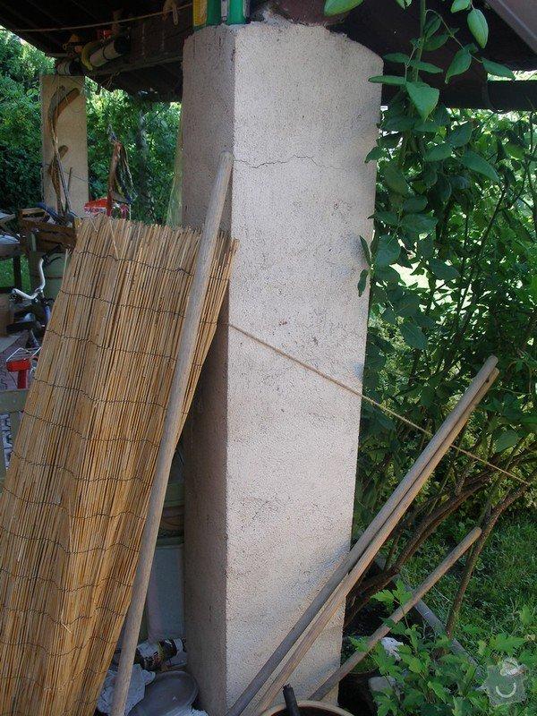 Zednické práce - sanační štuk: Sloupek