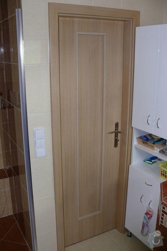 Kompletní dodávka interiérových dveří a obložkových zárubní vč.kování do RD: P1350503