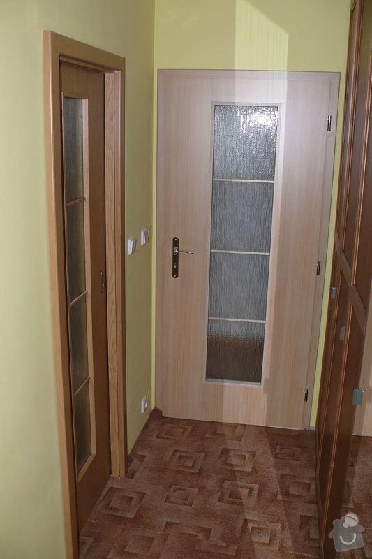 Kompletní dodávka interiérových dveří a obložkových zárubní vč.kování do RD: P1350504