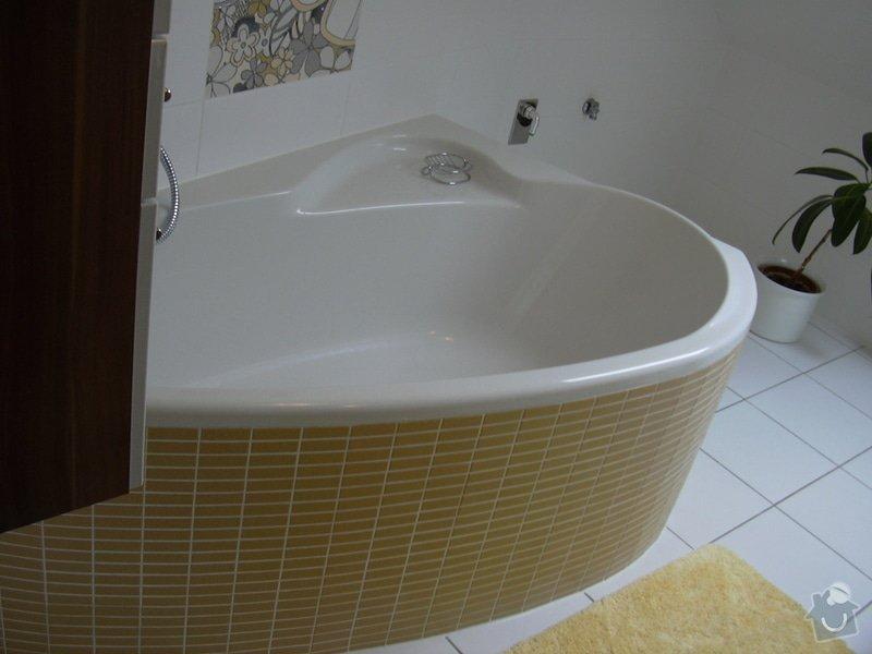Obklady a dlažba  v koupelně: DSCN2255