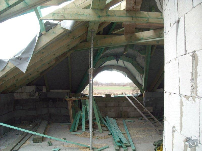 Kompletní zateplení střechy + sádrokartonářské práce - včetně materiálu: sn_mek_118
