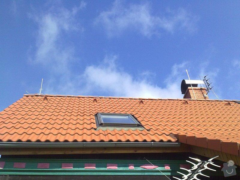 Montáž Hromosvodu na RD  Paní Jirsáková.: 25062011179