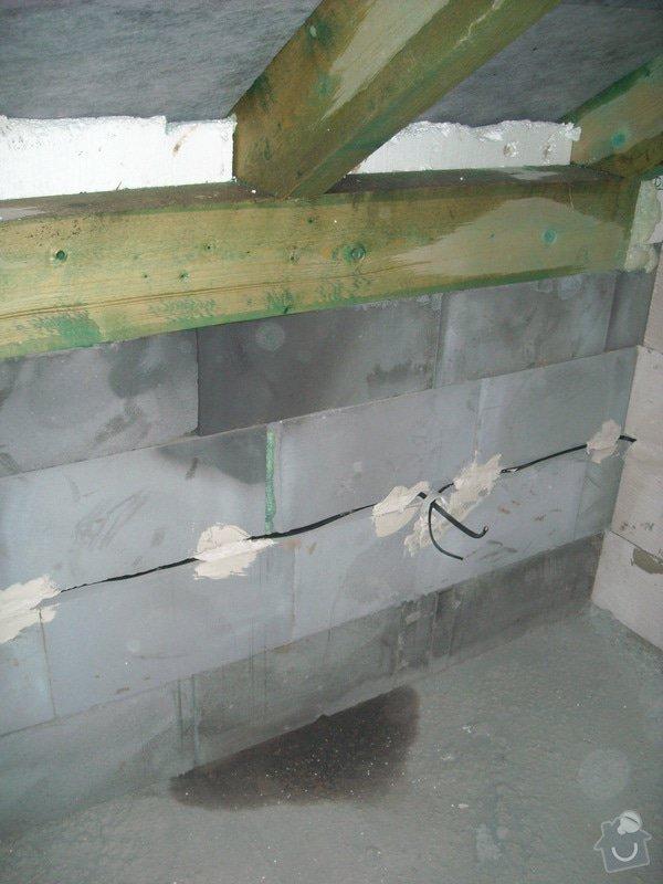 Kompletní zateplení střechy + sádrokartonářské práce - včetně materiálu: sn_mek_001