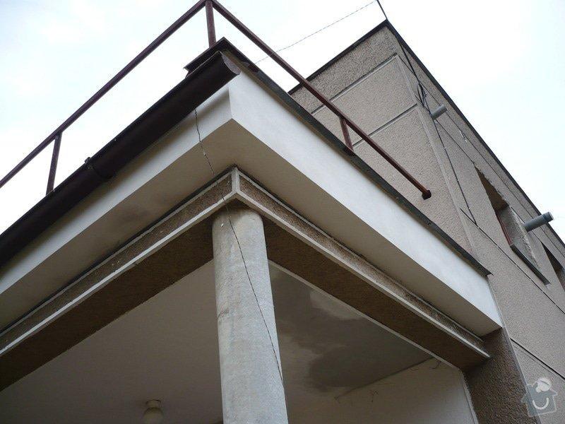 Izolace a pokládka dlažby na terase.: P1030453