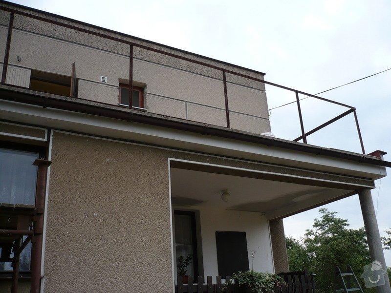 Izolace a pokládka dlažby na terase.: P1030452