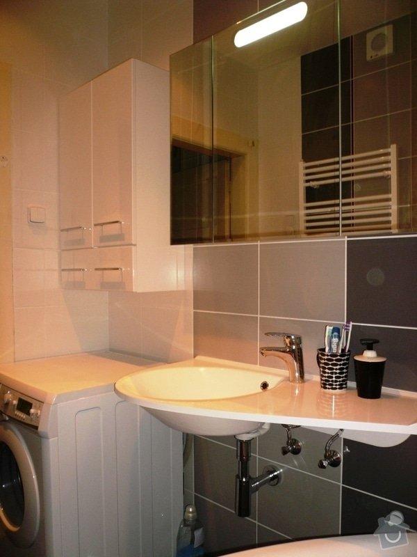 Rekonstrukce koupelny: K1