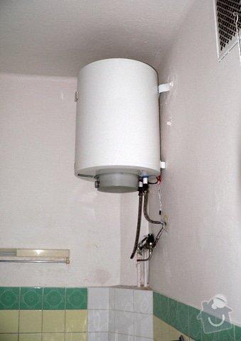 Rekonstrukce koupelny: bojler