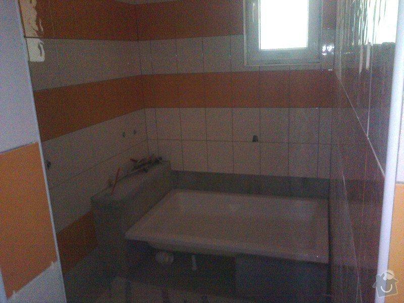 Obložení koupelny: Sprcha
