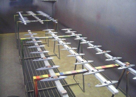 Lakování (stříkání) plastových dílů