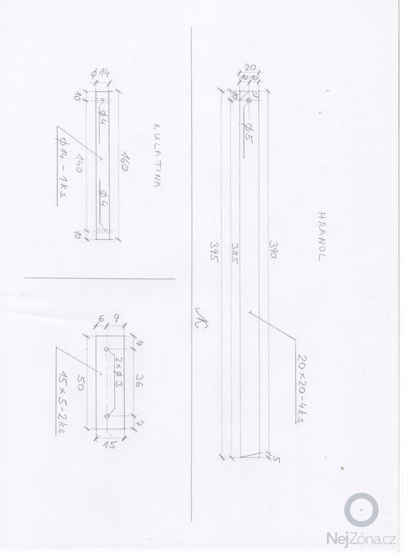Výrobu dřevěného stolku: tolek_b