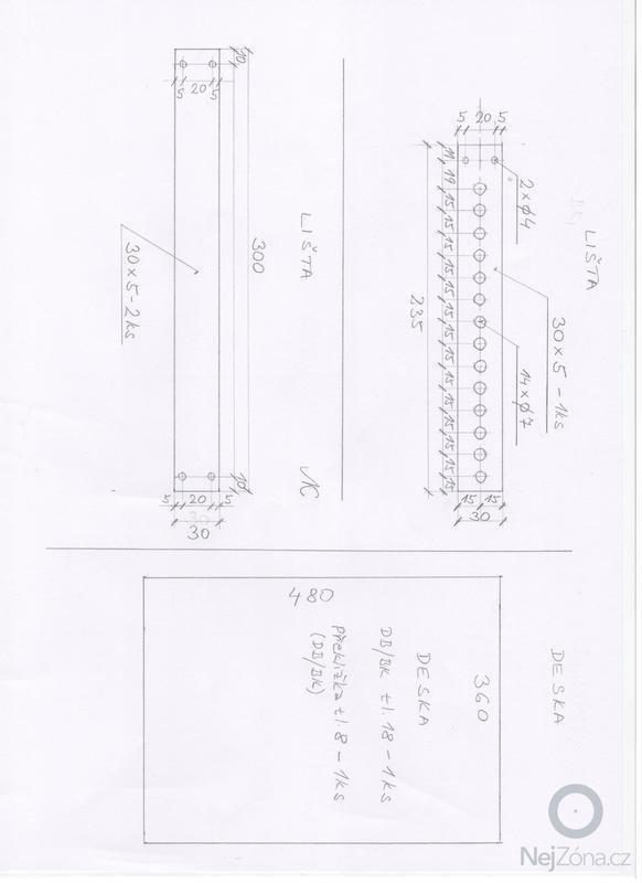 Výrobu dřevěného stolku: tolek_c
