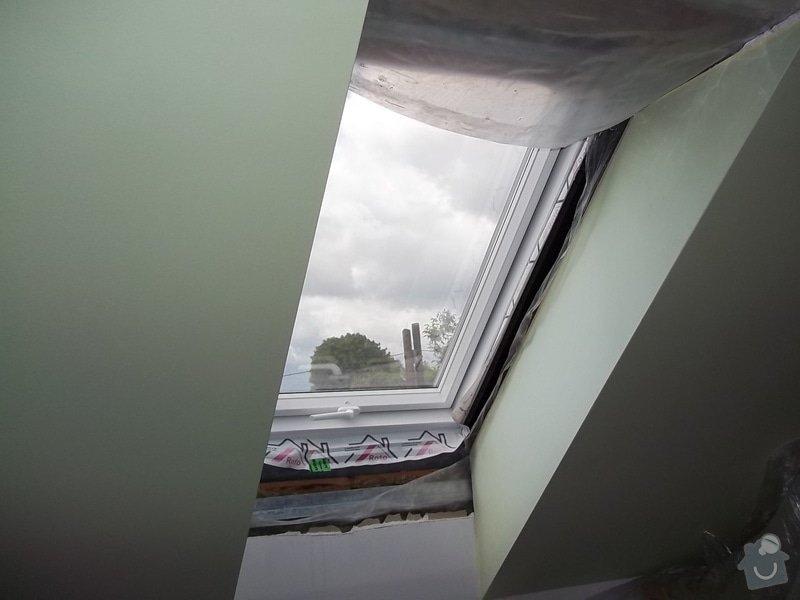 Špalety u střešních oken: 104_0350