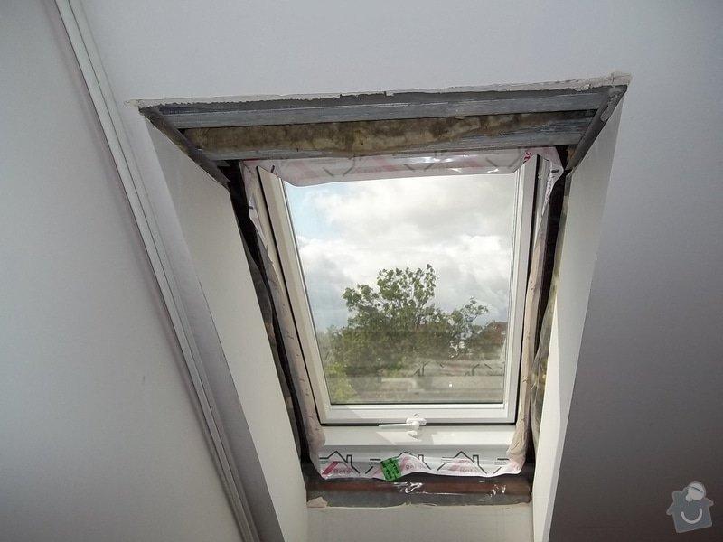 Špalety u střešních oken: 104_0353