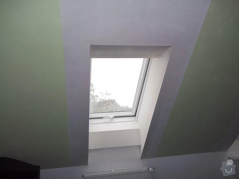 Špalety u střešních oken: 104_0359