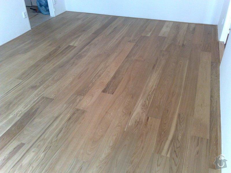 Pokládka podlahy - dvě místnosti á 18 m2: 003